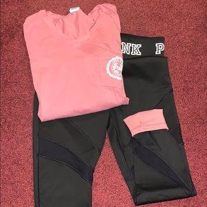 Victoria's Secret Pink 2piece set. BNWOT Size M